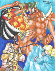 Trevor ,Sipha ,Grant  Alucard vs Leviatan!!!