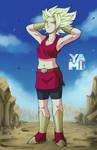 Kale Super Saiyajin by GoldennYami
