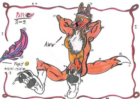 ticklish Foxy