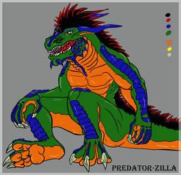 Predator-Zilla by wanderer1988