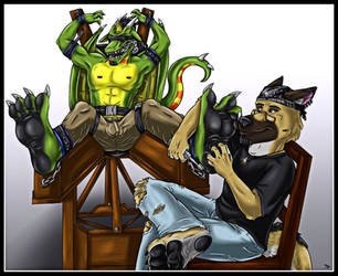 Dragon torture by wanderer1988