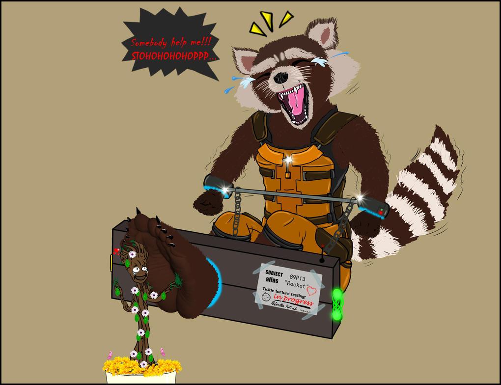 Ticklish raccoon by talpimado