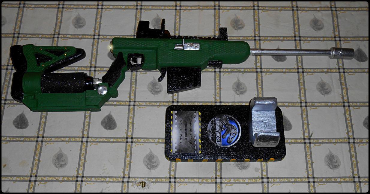 Tranquilizer rifle by talpimado