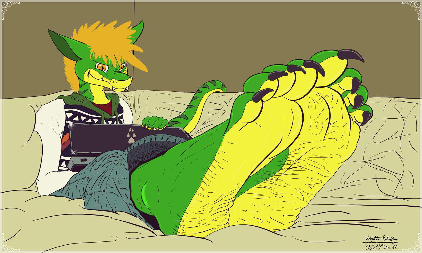 Dragon boy by talpimado