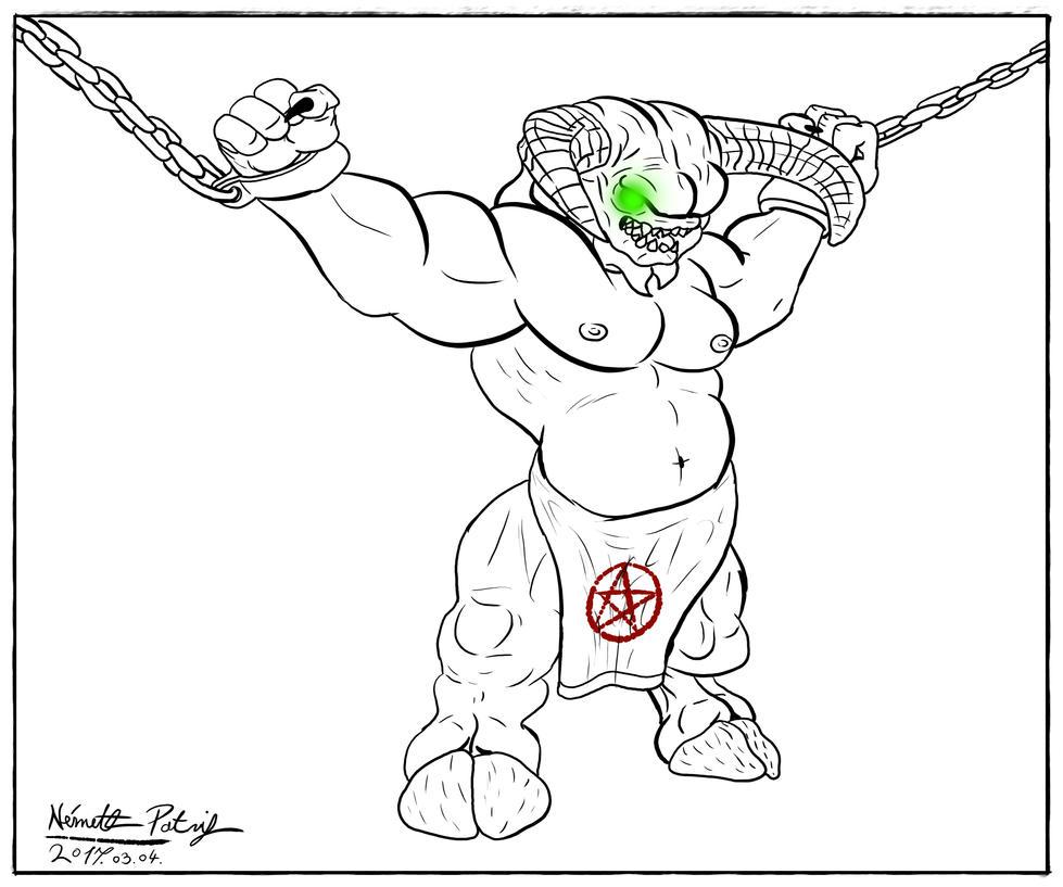 Baron of Hell by talpimado