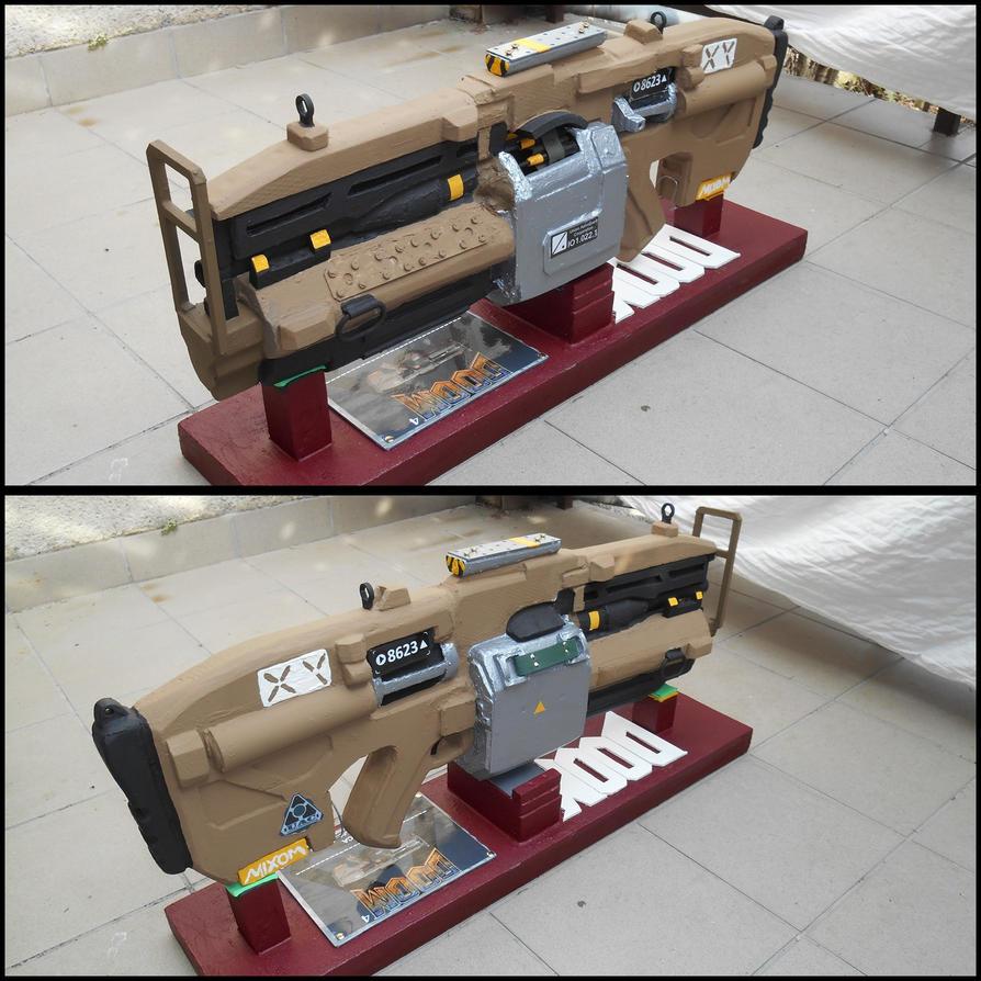 Heavy Assault Rifle by talpimado