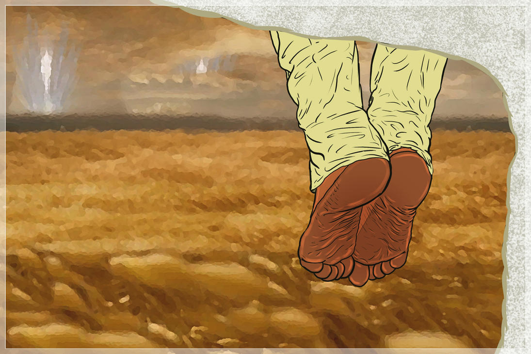 Caleb Koestler bare feet by talpimado