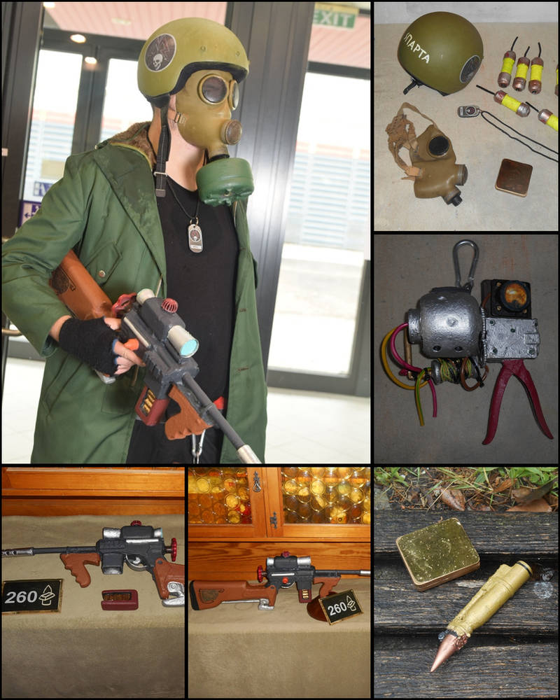 METRO cosplay and Props by wanderer1988