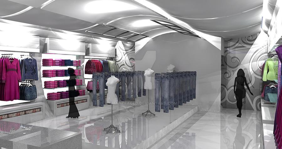 Fashion Boutique Concept by Shamefaced