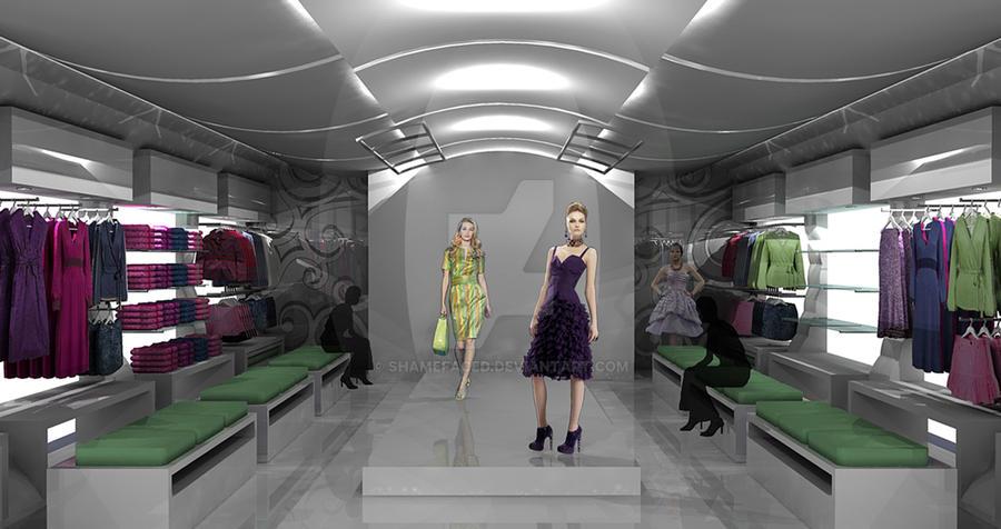 Fashion Boutique Concept 2 by Shamefaced ...