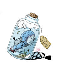 -the dragon of the bottle-