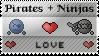 Pirates+Ninja Love