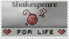 Shakespeare - For Life by yadu