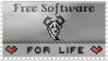 Free Software - For Life by yadu