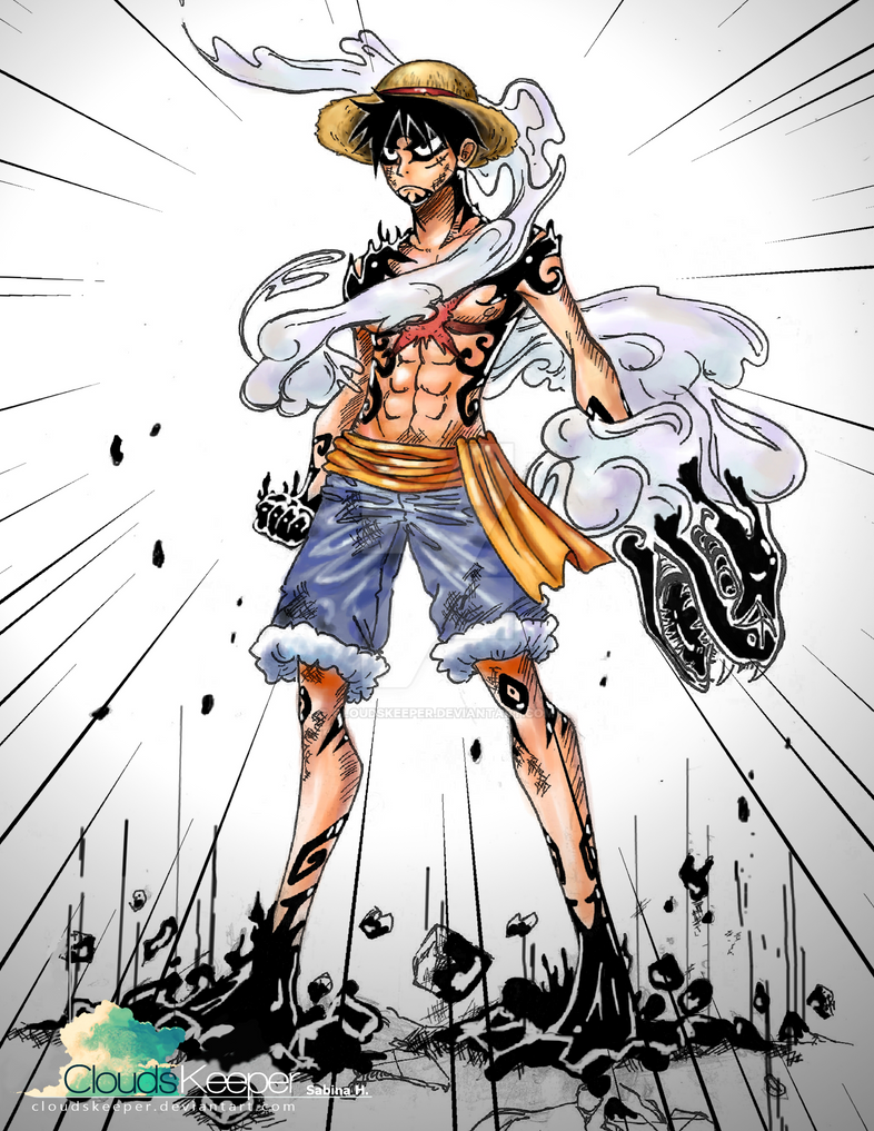 One Piece- Luffy Gear 4 - Invisible Snake Gun! by ...