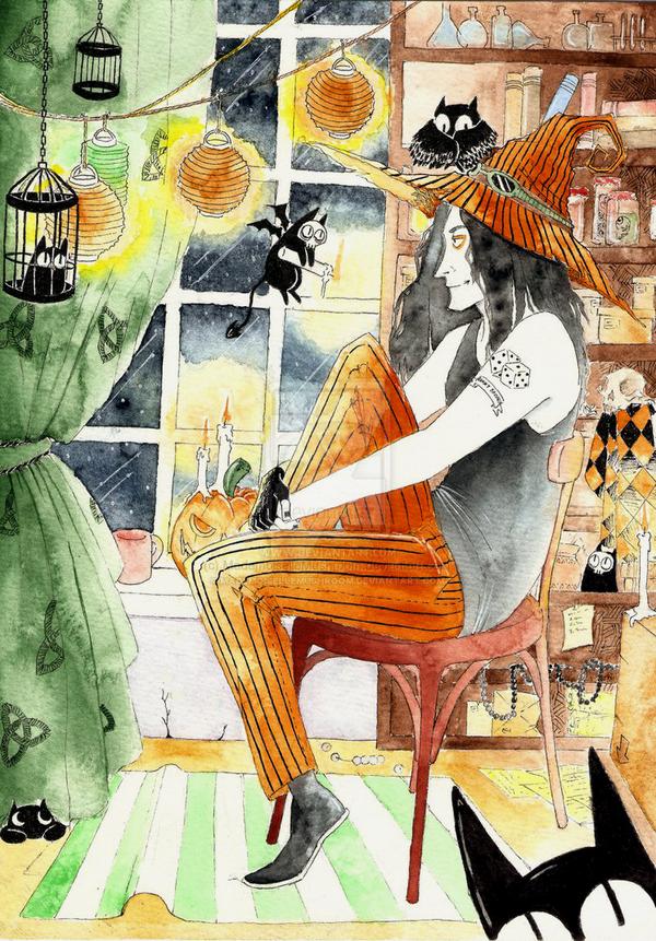Halloween by MademoiselleMushroom