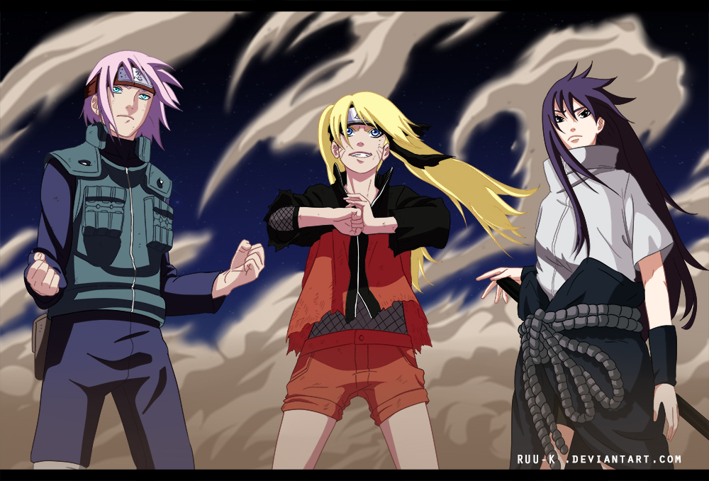 Team 7 Return ~ Genderbender by Ruu-k