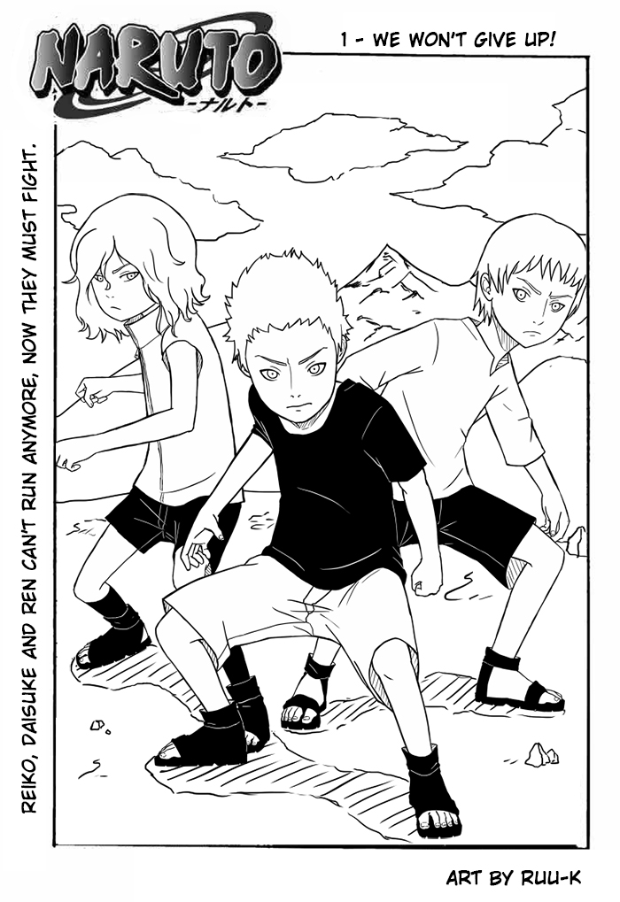 Naruto OC's - Reiko, Daisuke and Ren by Ruu-k