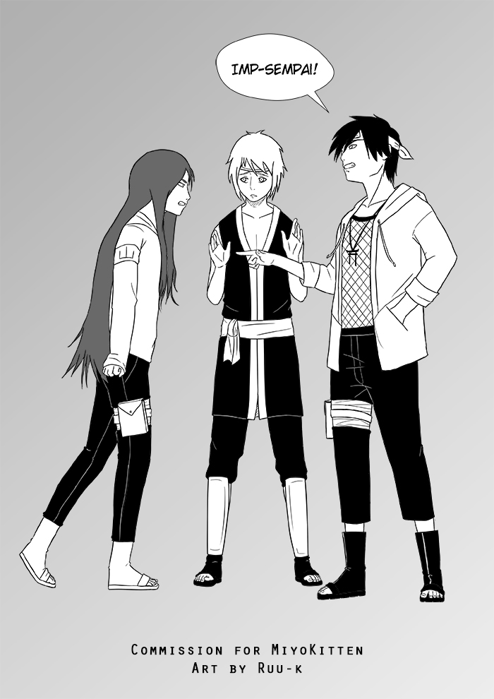 Naoki, Masaru and Narashi by Ruu-k
