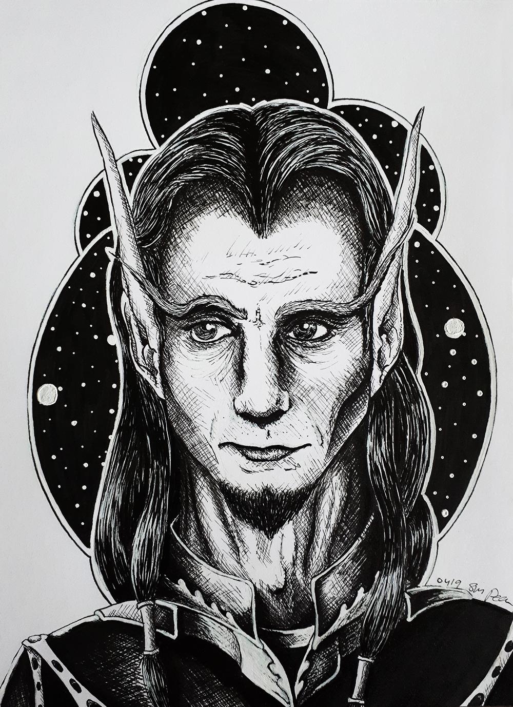 Boraenin Greythorn - For TindomielSilverthorn