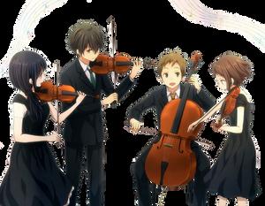 hyouka violin