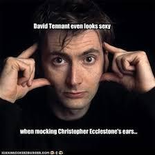 Chris's Ears- David Tennant by BeyondlovesL