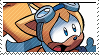 STAMP: Ray the Flying Squirrel by Xeric-Studios