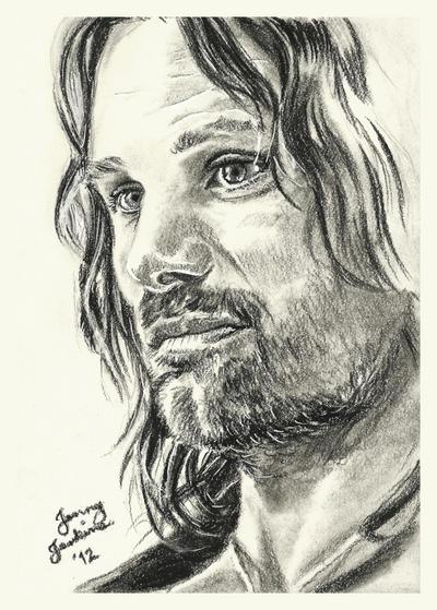 Aragorn by thewholehorizon
