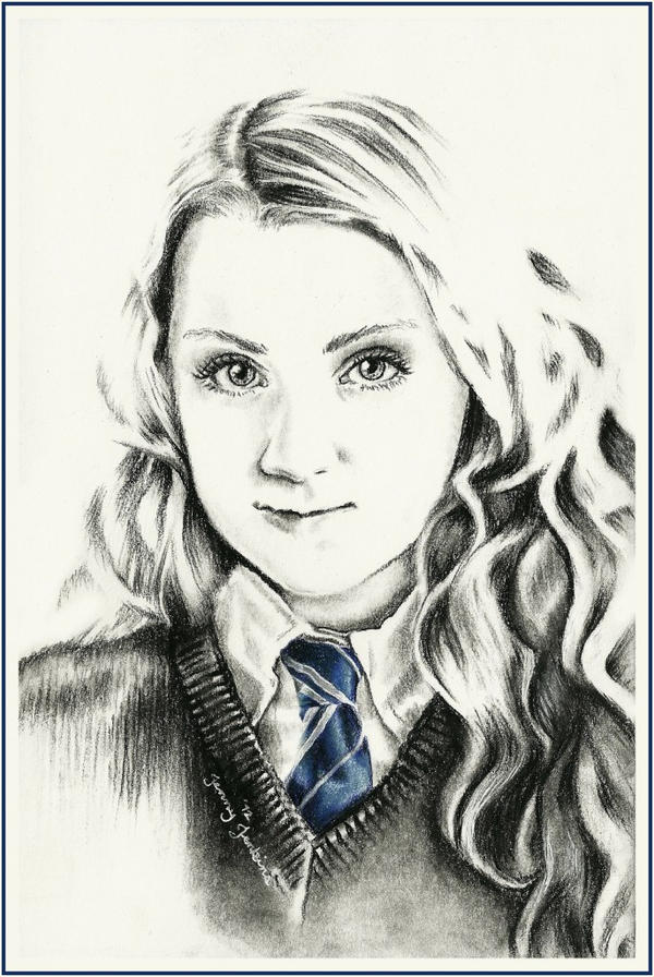 Luna lovegood by thewholehorizon on deviantart for Luna lovegood coloring pages