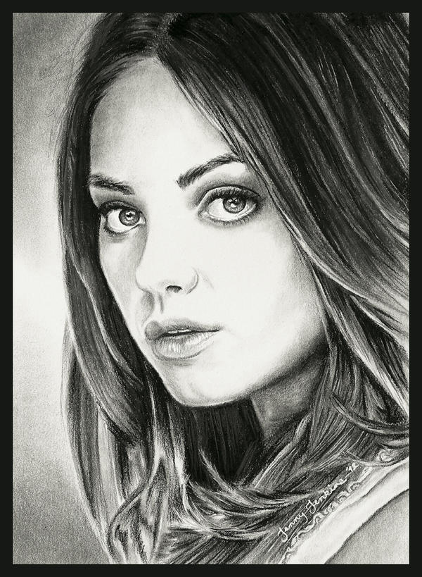 Mila Kunis by thewholehorizon
