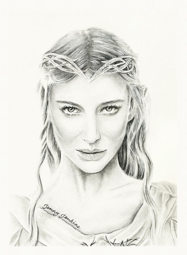 Galadriel by thewholehorizon