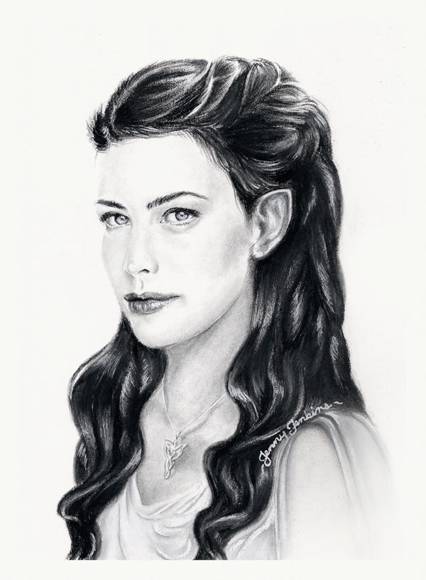 Arwen by thewholehorizon