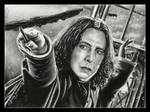 Severus Snape by thewholehorizon