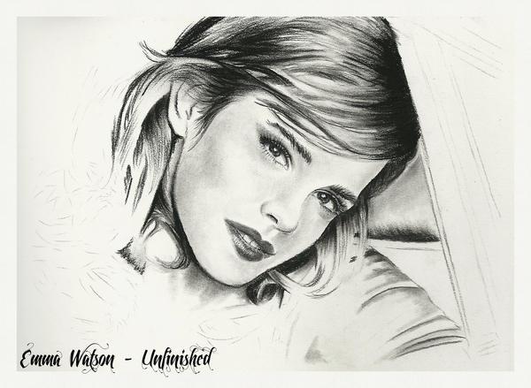 Emma Watson - Unfinished by thewholehorizon