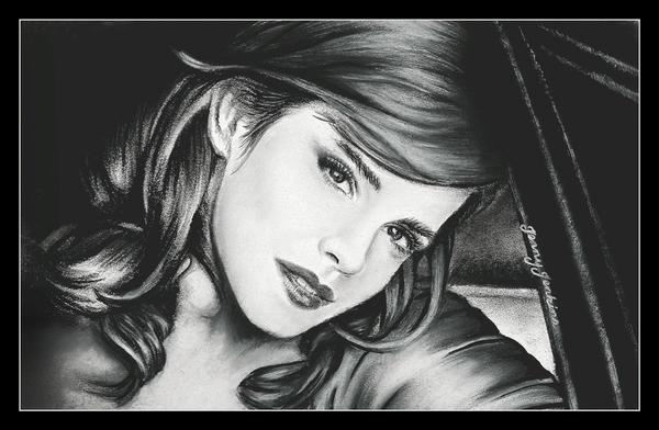 Emma Watson by thewholehorizon