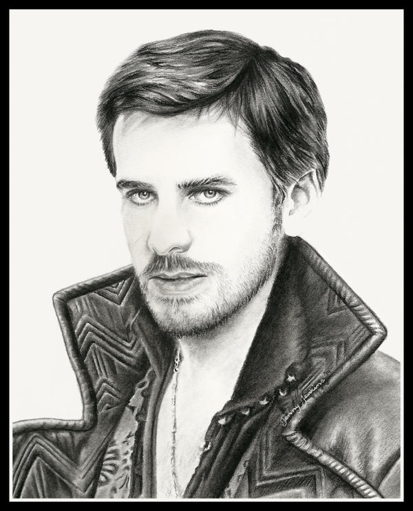 Captain Hook / Killian Jones by thewholehorizon