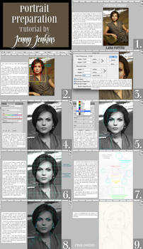 Portrait Preparation Tutorial