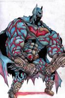 Ultra Muscle Batman by choonchooart