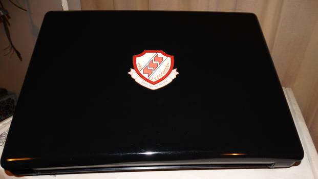 Shinda Sekai Sensen (SSS) Laptop sticker