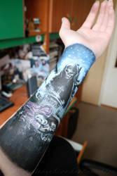 A7X arm painting by mrsxbenzedrine