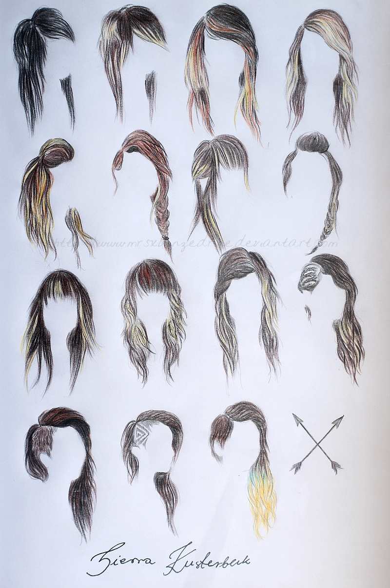 ... Girl Sketches Drawings. on cool drawings for teen girls hairstyles