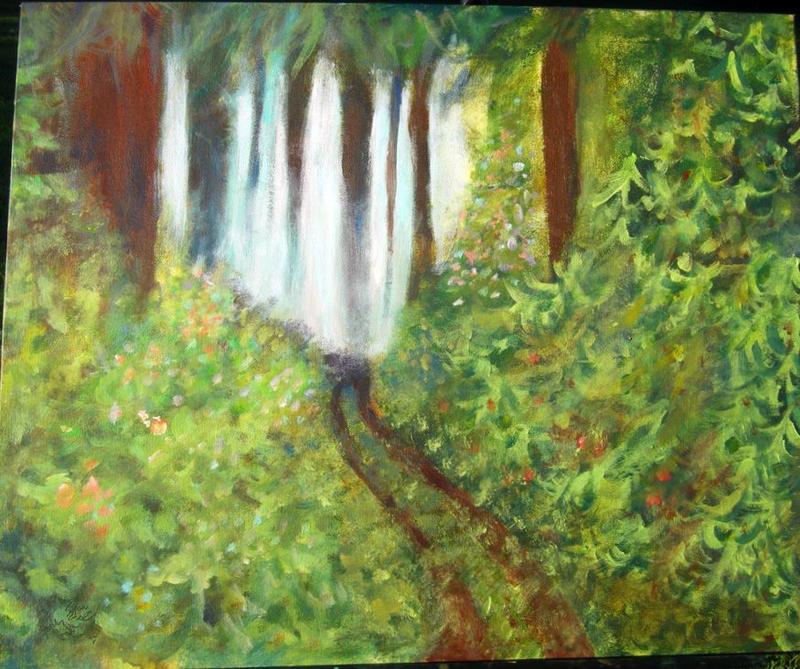 Misty Forest by imjustellingyou