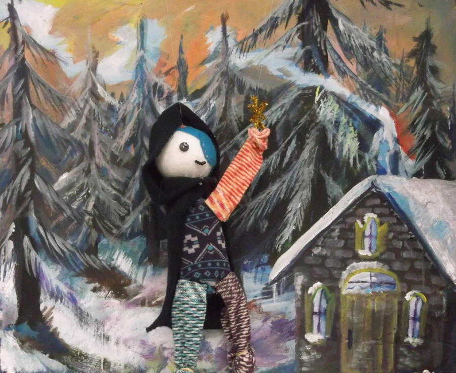 Wizard Marionette and BG by imjustellingyou