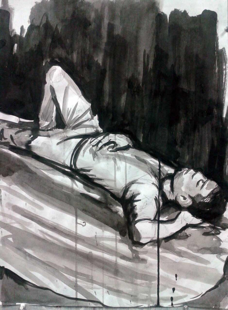 Ink Figure by imjustellingyou