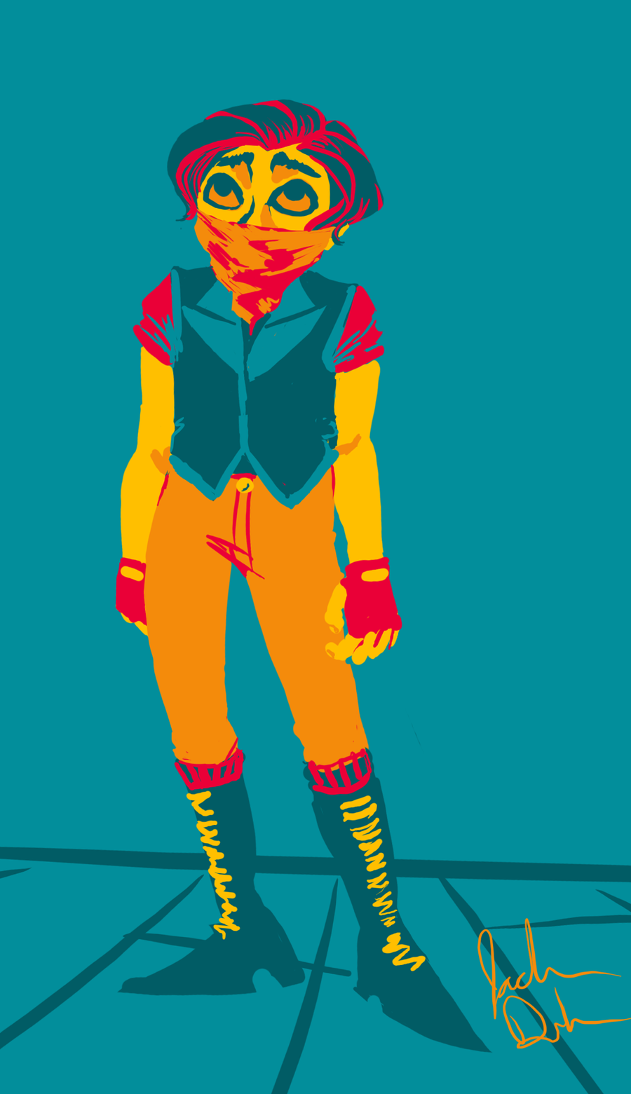 Palette Contest entry 3 by imjustellingyou