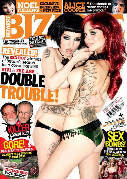 Bizarre magazine front cover