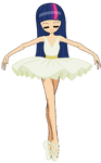 Anime Ballerina Twilight Sparkle