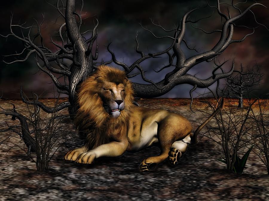 AKA The Lion by Vangough2