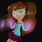 Look what you made me do drawing tablet test DESC by iiVividz