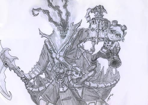Thresh and Tristana - League of Legends
